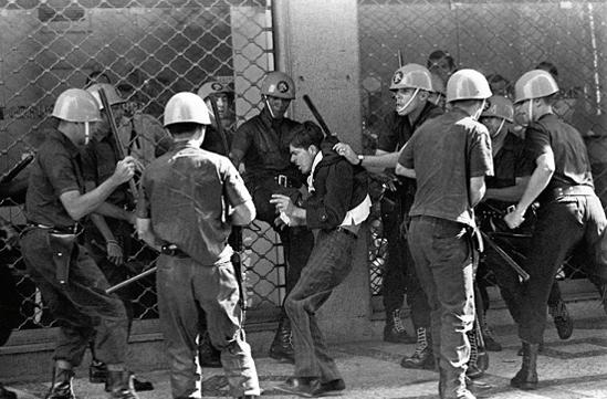 Polícia durante a ditadura militar