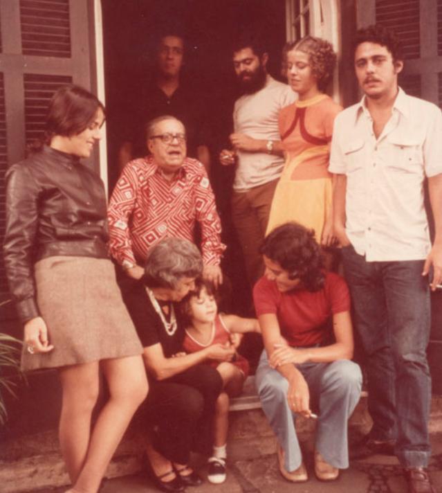 Chico Buarque e família